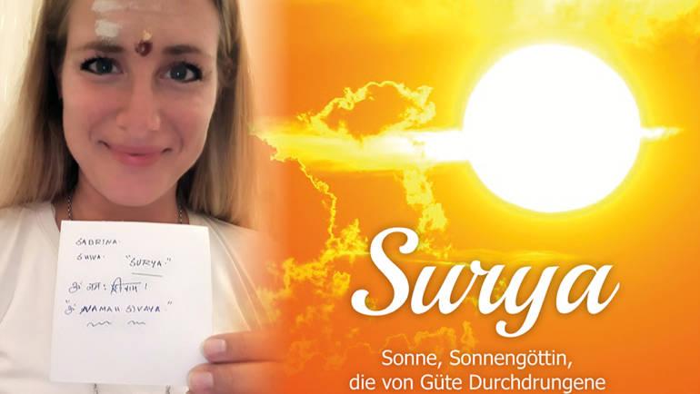 Darf ich vorstellen: Ich bin Surya