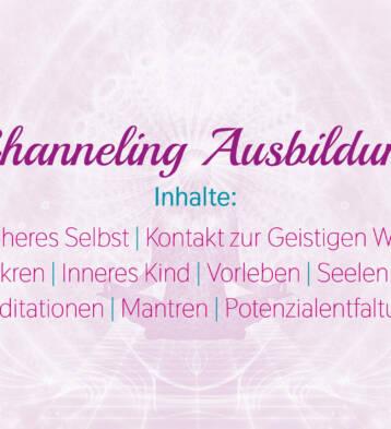 Channeling Ausbildung
